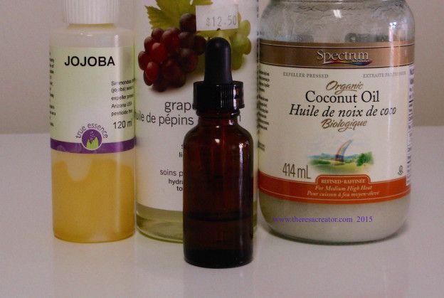 Damaged hair repair serum