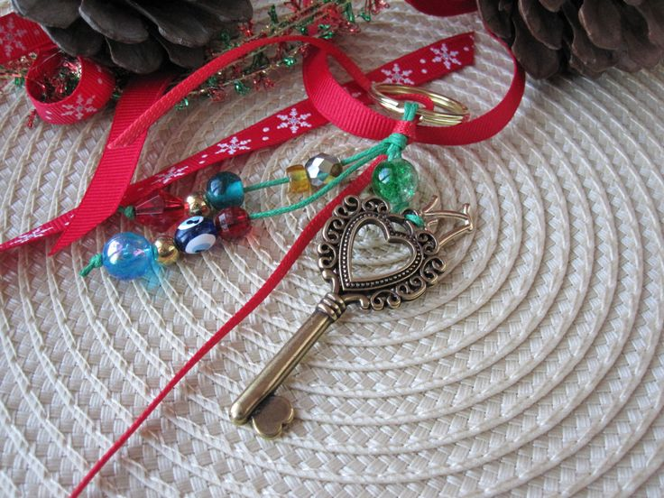 Lucky 17 / Keychain / Home Decor / Lucky Charm by MykonosByBoni on Etsy