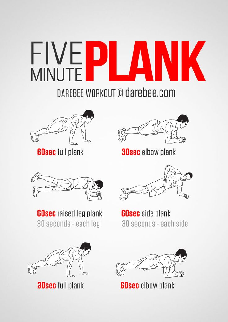 "Five Minute Plank Workout  A 5 minute workout…that is nothing right?  Think again.  This short 5 minute workout will have you saying ""when will it be over!!!""  http://www.alesstoxiclife.com/fitness/five-minute-plank-workout/"