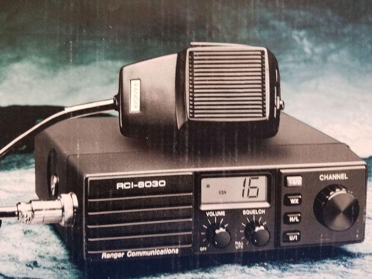 Ranger RCI-6030 Marine VHF Radio-NIB #Ranger