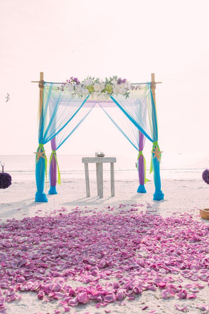 Best 25 Purple Beach Weddings Ideas On Pinterest Spring