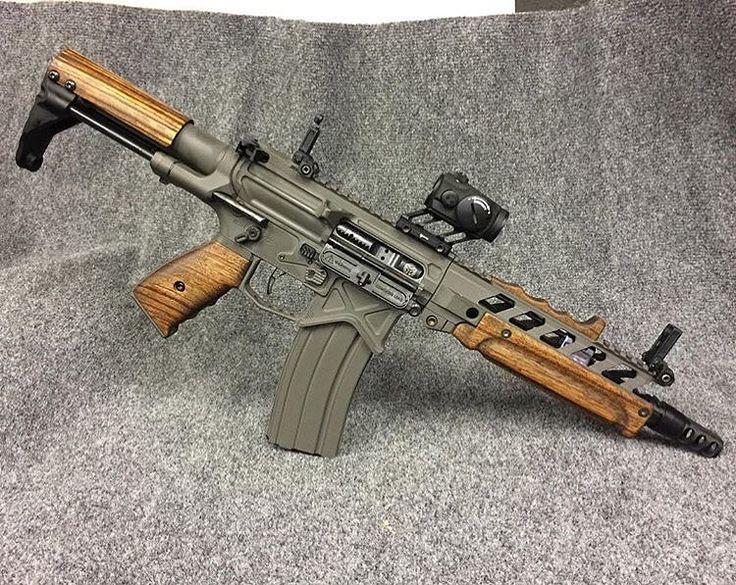 Unique custom AR15 PDW