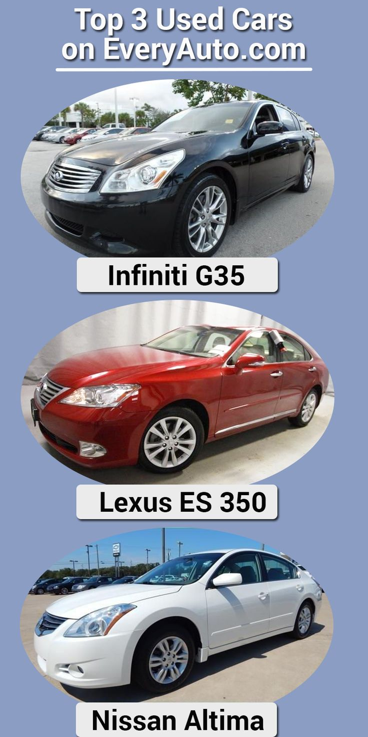 Here are 3 of the most popular used cars searched on everyauto click our image to be able to search over million cars trucks and suvs from of trusted