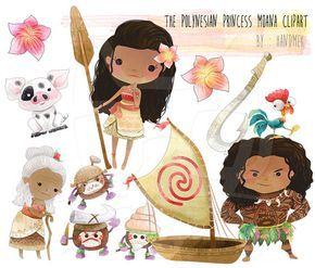 El polinesio princesa Moana princesa moana imágenes