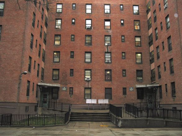 how to get an apartment in the projects