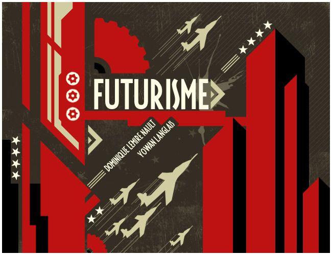 A very modern war based usage of Futurism
