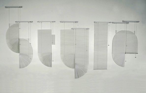Venetian von Andrew Byrom | iGNANT: Venetian Blinds, Style, Experimental Typography, Google Search, Graphics Design, Blinds Fonts, Types, Typography Art, Andrew Byrom