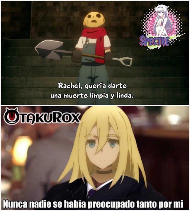 Nunca Nadie Se Había Preocupado Tanto Por Mi Meme Anime Satsuriku No Tenshi Sigueme En Thunder Momos Para Mas Contenido Spectre Anime Meme En Espanol Anime Memes Espanol Memes Otakus Meme De Anime
