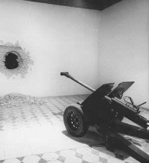 """Pino Pascali: Cannone 'Bella Ciao', 1965. - """"feigned #sculpture"""""""