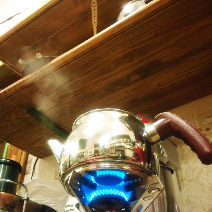 Steam meets tea