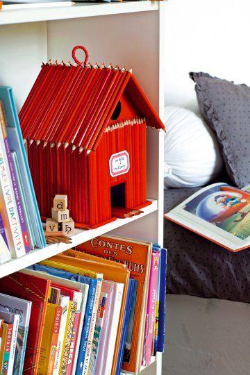 pencil house