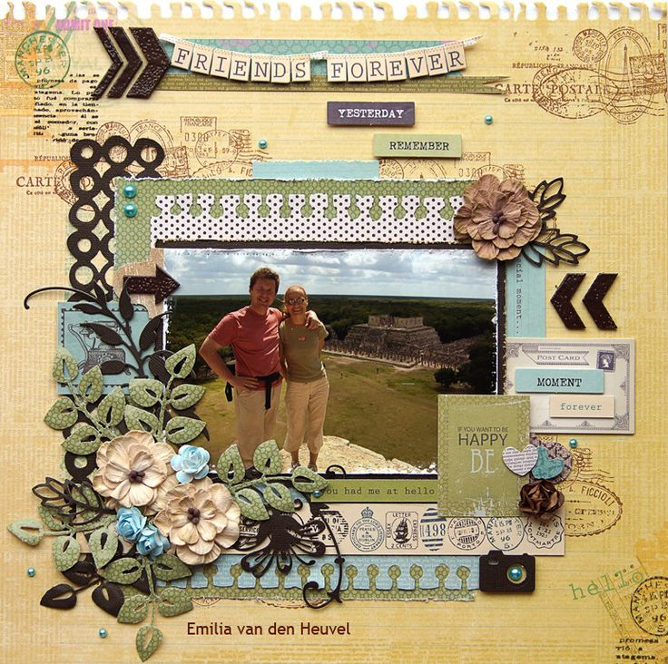 """Guatemala {Kaisercraft & Merly Impressions} - Kaisercraft """"Telegraph Road"""" collection. http://few-favourite-things.blogspot.nl/2014/03/another-telegraph-road-layout.html"""