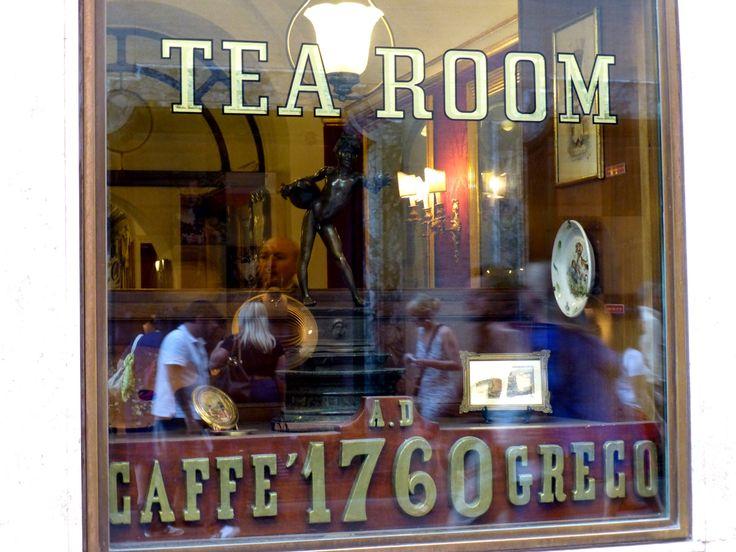 Antico Caffè Greco in Roma, Lazio