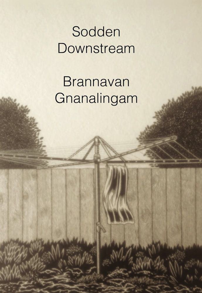 """""""Sodden downstream"""", by Brannavan Gnanalingam - Thousands flee central Wellington as a far too common 'once in a century' storm descends. Roads are closed and all rail is halted. For their own safety, city workers are told that they must go home early. Sita is a Tamil Sri Lankan refugee living in the Hutt Valley. She's just had a call from her boss. If she doesn't get to her cleaning job in the city she'll lose her contract. 2018 Finalist Acorn Foundation Ficton Prize"""