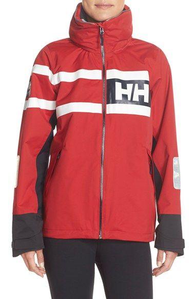 Helly Hansen 'Salt Power' Waterproof Jacket available at #Nordstrom