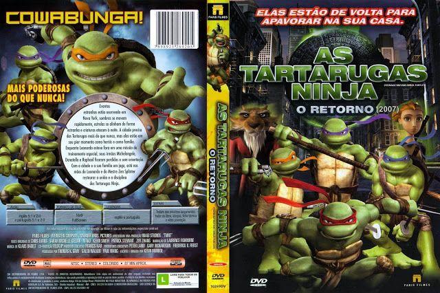 As Tartarugas Ninja 4 O Retorno 2007 Em Dvd R Black39