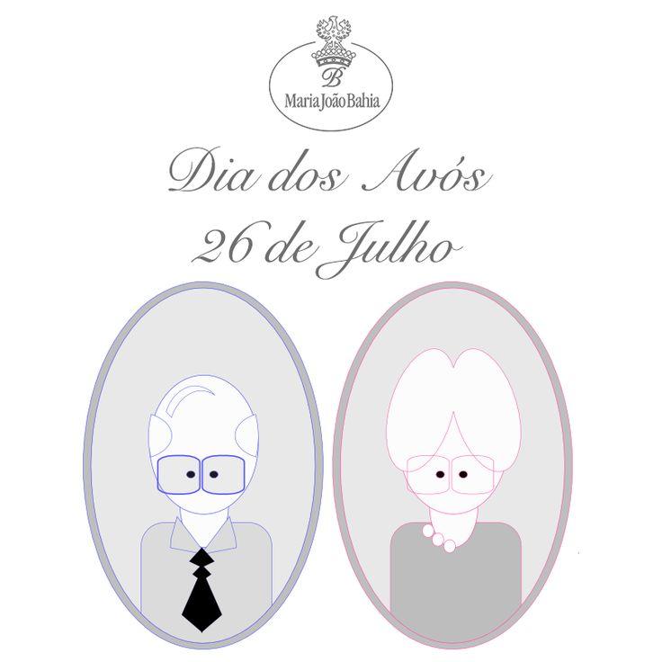 Este 26 de Julho, data em que se celebra do Dia dos Avós, escolha uma peça Maria João Bahia e surpreenda aqueles que lhe são mais queridos.   Veja as sugestões que temos para si no nosso site: http://goo.gl/A5MCEZ  #mariajoaobahia #diadosavos #grandparentsday #joias #joiasdeautor #jewelry #signedjewelry #sugestoes #suggestions #gifts #family #avenidadaliberdade #avos #avo