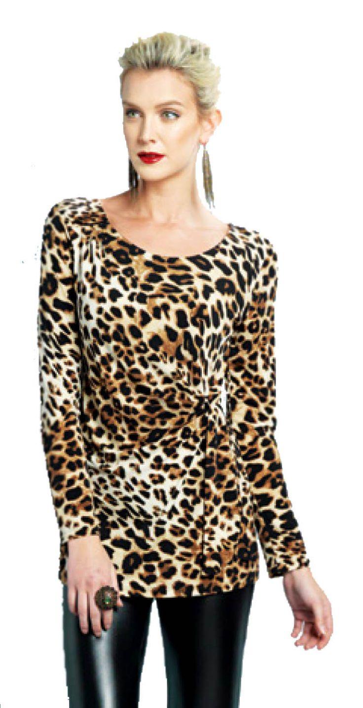 Clara Sun Woo Soft Stretch Knit Tunic Womens Tunics Knit Tunic Tunic