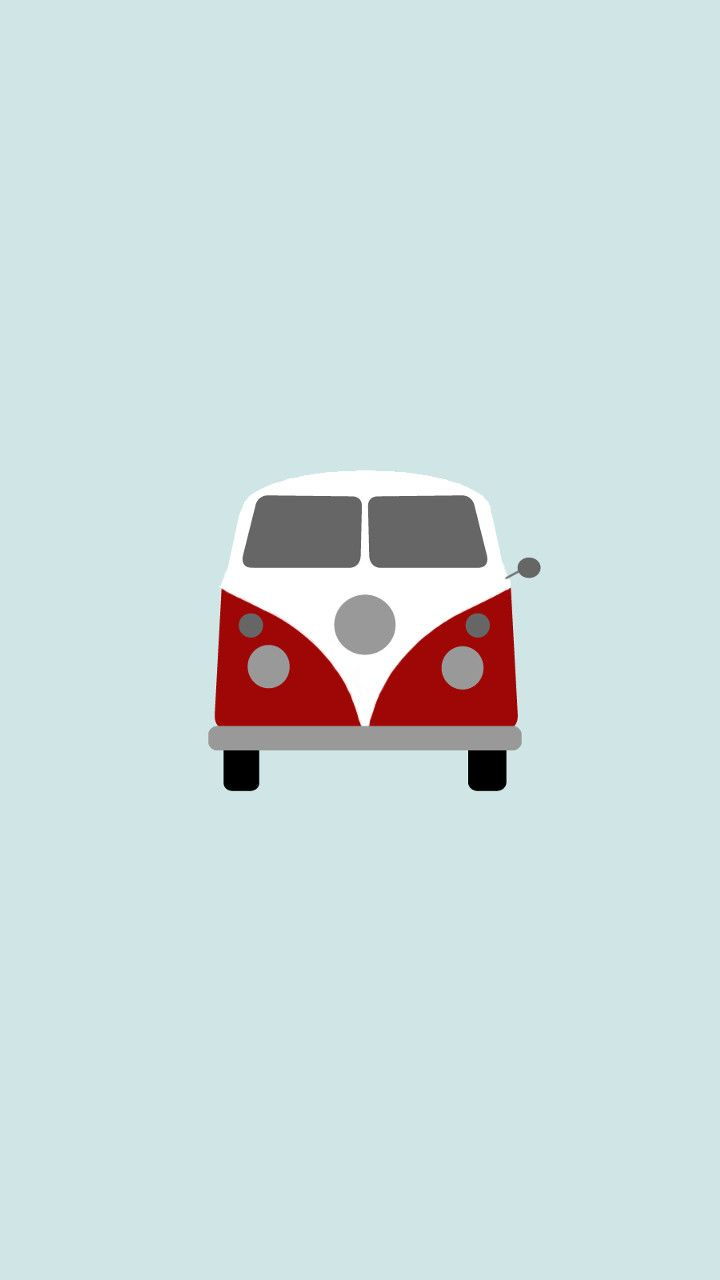 VW Combi - Minimal iPhone Wallpapers @mobile9