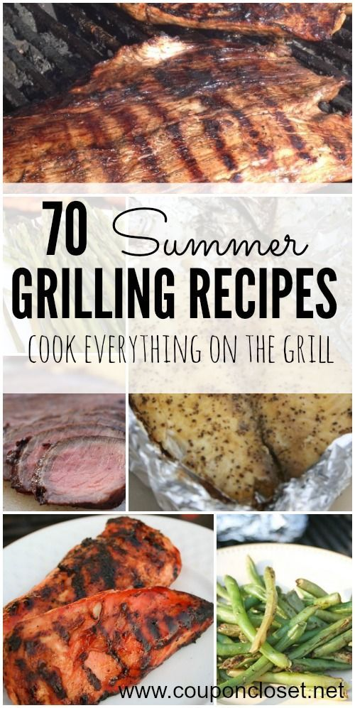 Here are some Easy Summer Grilling Recipes to try. They are all delicious and super easy to make without heating up your house.