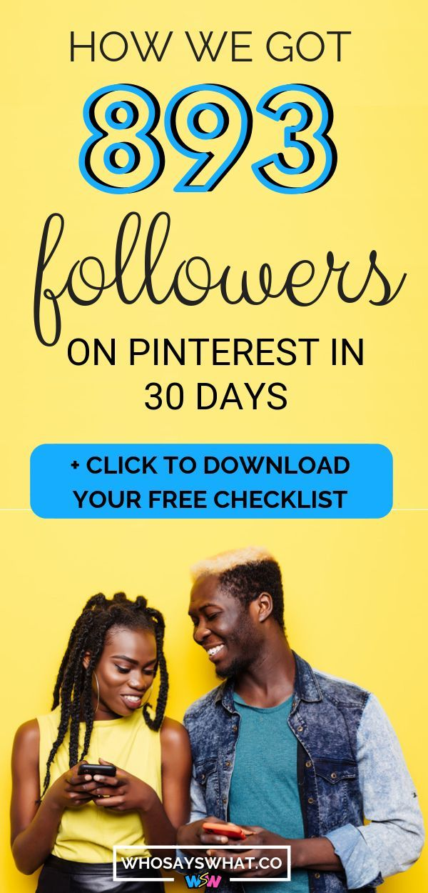 How To Get A Lot Of Followers On Pinterest Fast
