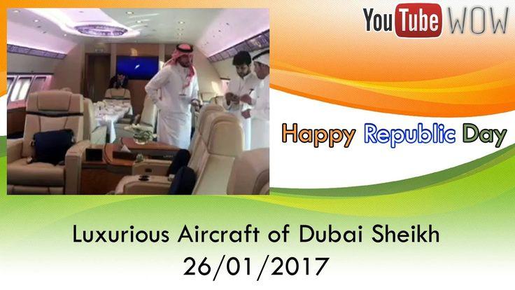 Luxurious Aircraft of Sheikh Mohammed bin Zayed al Nahyan