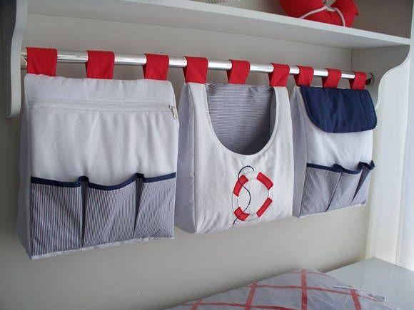 Porta fralda é uma peça linda pode ser fabricada combinando com o kit do berço <br>Porta fralda 3 peças <br>Tecido:fustão colegial 100% algodão <br>Medidas:30x40 cada