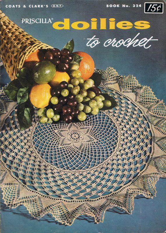 128 besten Vintage Crochet Bilder auf Pinterest   Häkelgarn, Kunst ...