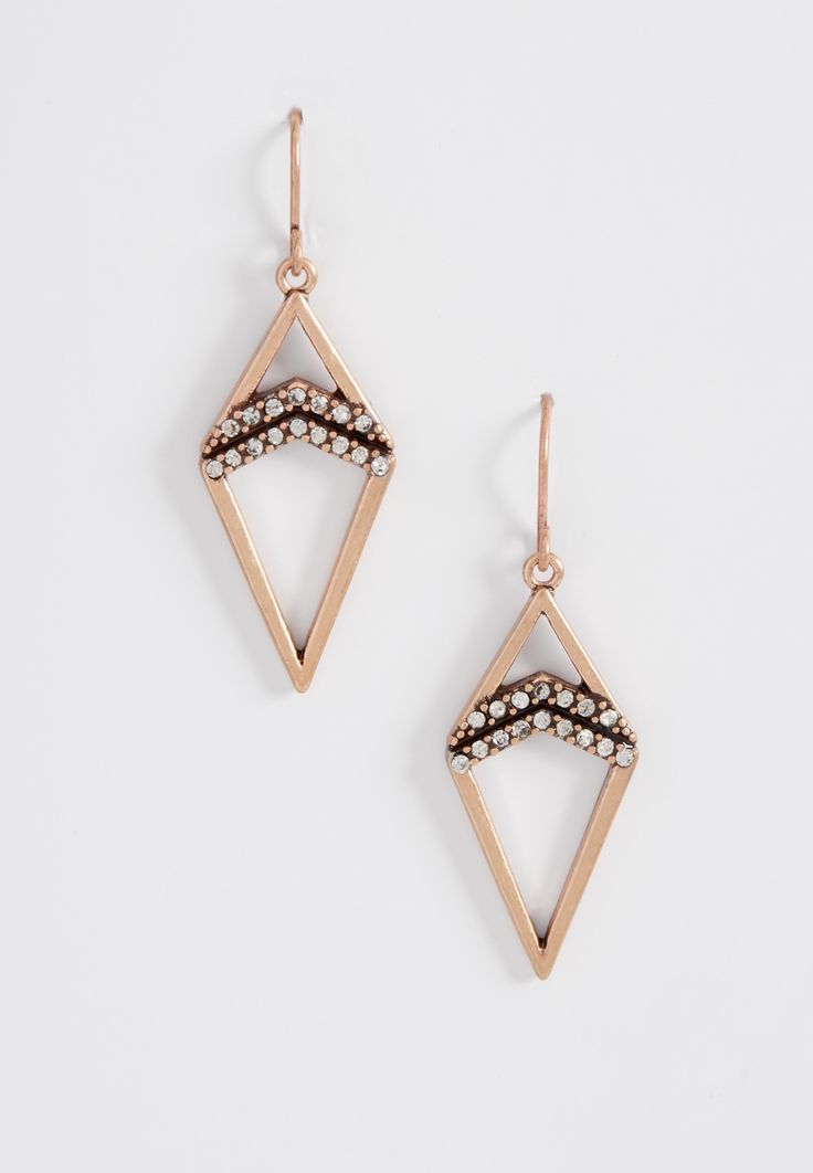 Maurices Rose Gold Tone Drop Earrings EATM5M4Jf
