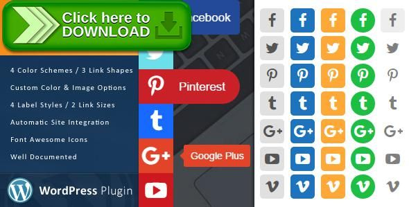 [ThemeForest]Free nulled download WordPress Social Sidebar from http://zippyfile.download/f.php?id=58639 Tags: ecommerce, addthis, animated menu, fixed menu, font awesome, fuselight media, pull out, share links, sharing, side menu, slide out, social links, social share, social sidebar, wordpress links, wordpress sidebar
