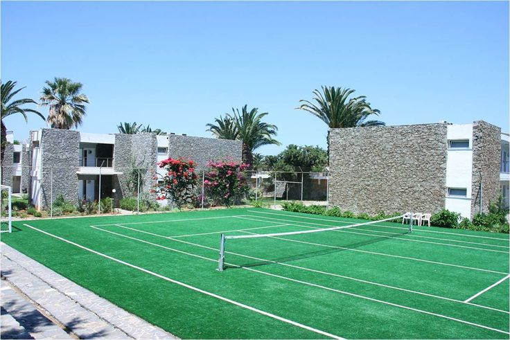 #Tennis court at #CretaBeach hotel! #Crete #Sports #Fitness #Greece
