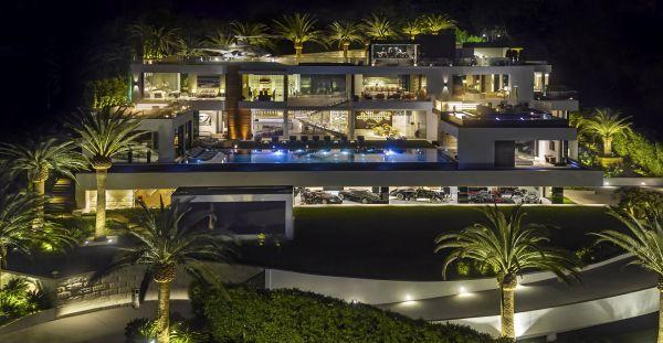 Mansão milionária em Bel Air, Los Angeles