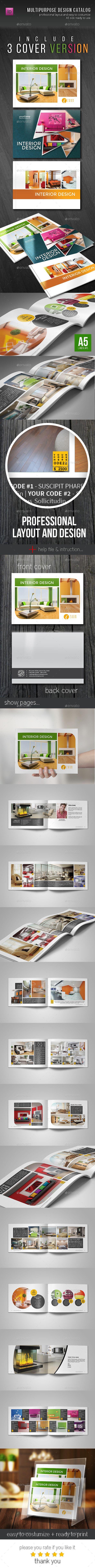 Brochure / Catalog Template - Catalogs Brochures