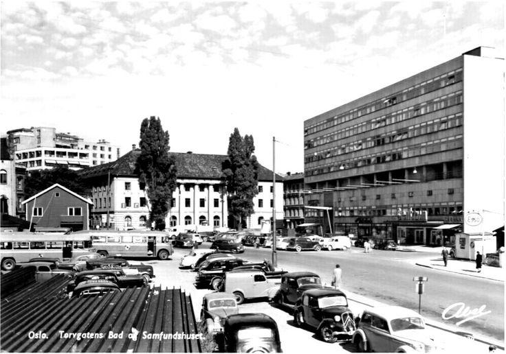 Oslo Torvgatens Bad og Samfunnshuset 1950-tallet utg Abel
