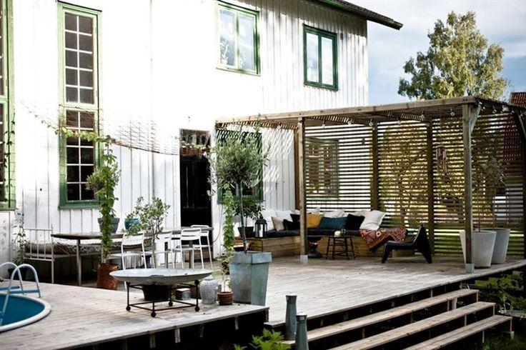 Swedish Farmhouse - back porch