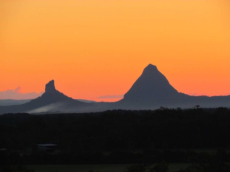 Glasshouse Mountains QLD.