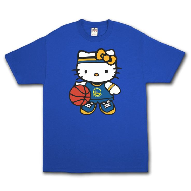 Warriors Hello Kitty T-Shirt.