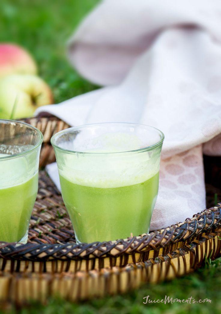 Green Apple & Basil Juice