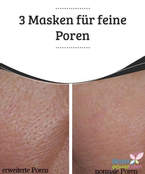 3 #Masken für feine Poren #Erweiterte #Poren kommen sehr häufig vor und werden oft durch #Make-up verdeckt. Besser ist es, die Ursachen herauszufinden und zu behandeln. In diesem #Beitrag erfährst du mehr über dieses Thema.