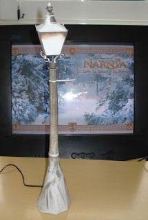 Icthus7 Papercraft: Erial del Farol de Las Crónicas de Narnia.