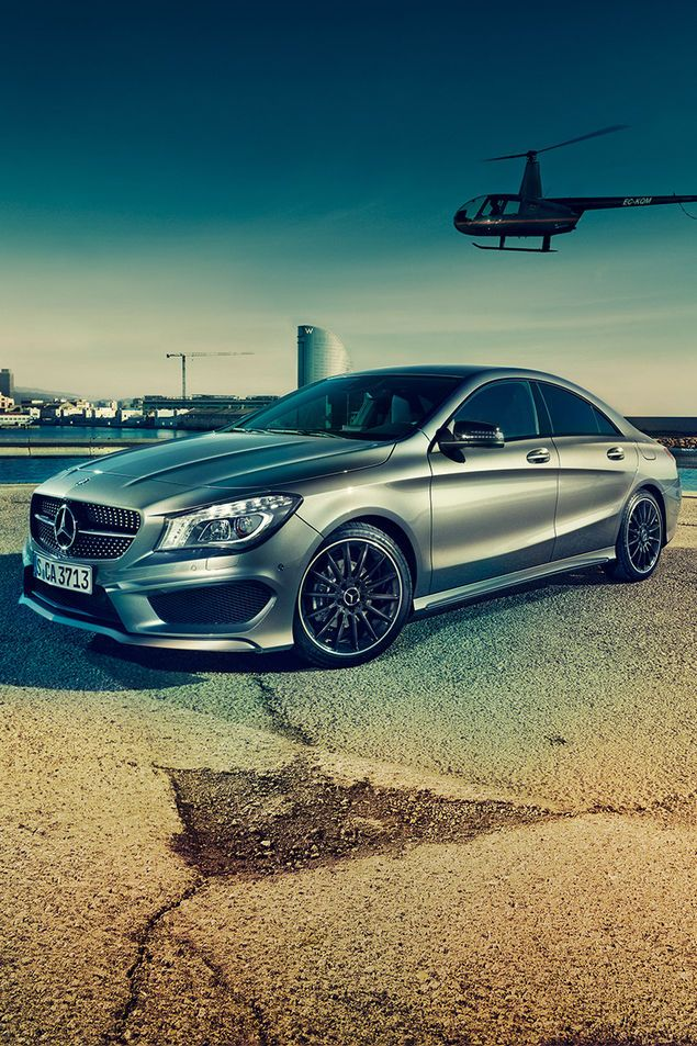Mercedes Benz CLA - one of the sexiest 4-doors I have seen