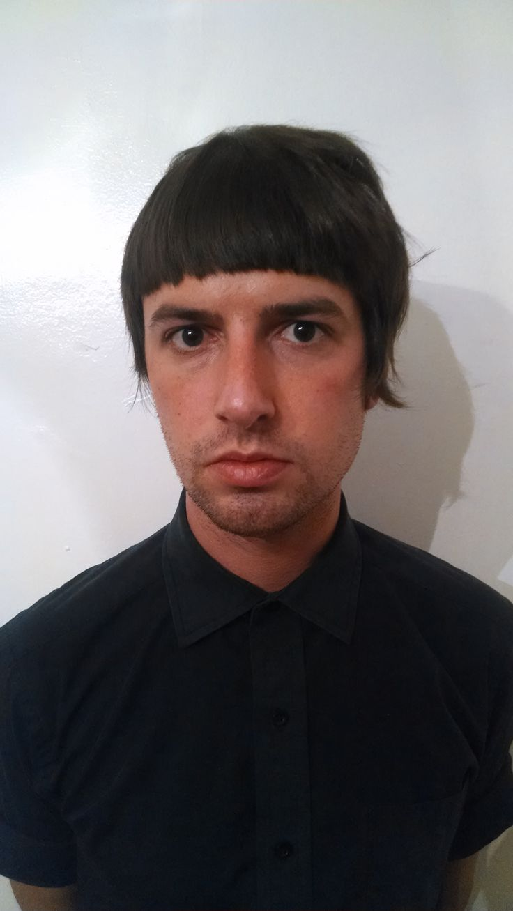 Proof that guys can have fun haircuts too! Loving this fun A symmetrical cut on my friend