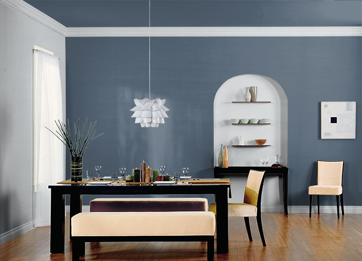 This is the project I created on Behr.com. I used these colors: MIDNIGHT SHOW(T17-17),SILVER SHADOW(N510-1),