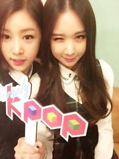 SungAh & EuAeRin On Simply K-Pop