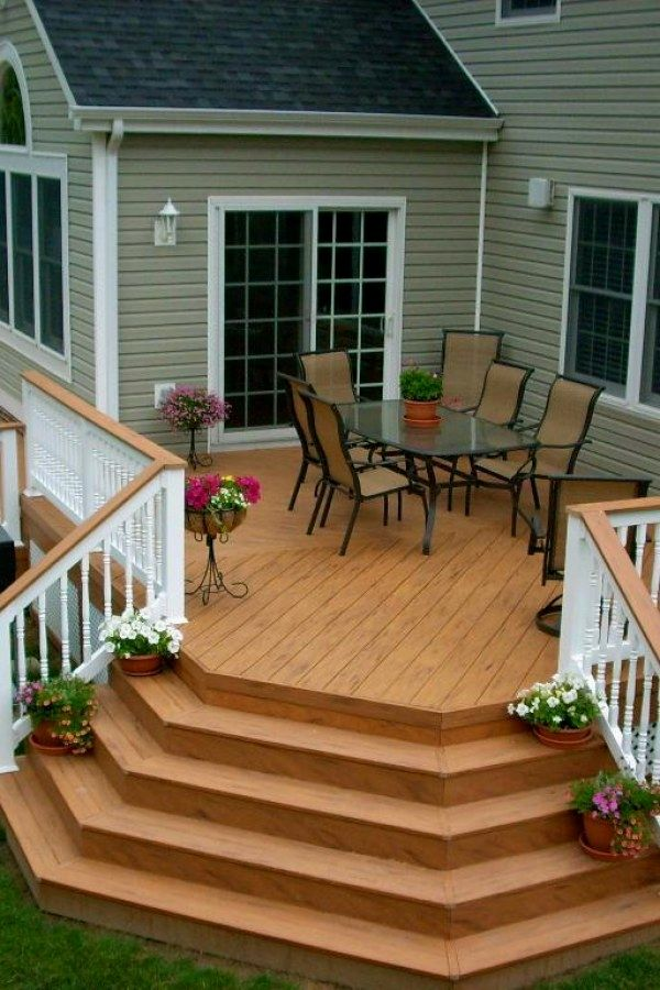 easy diy deck ideas you can do yourself for your yard deck design rh pinterest com
