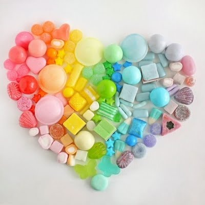 Candy love!: Candy Color, Mothers Day, Color Candy, Rainbows Candy, Rainbows Heart, Color Wheels, Valentines Day, Candy Heart, Rainbows Stuff