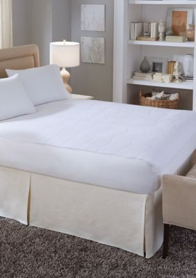 serta serta plush velour sheet heated electric warming mattress pad queen white queen - Heated Mattress Pad Queen