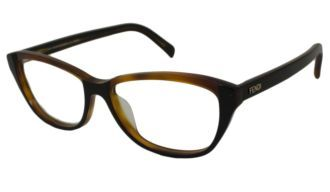 Discount Fendi Readers Reading Glasses - F1002 Black Havana at $98.99