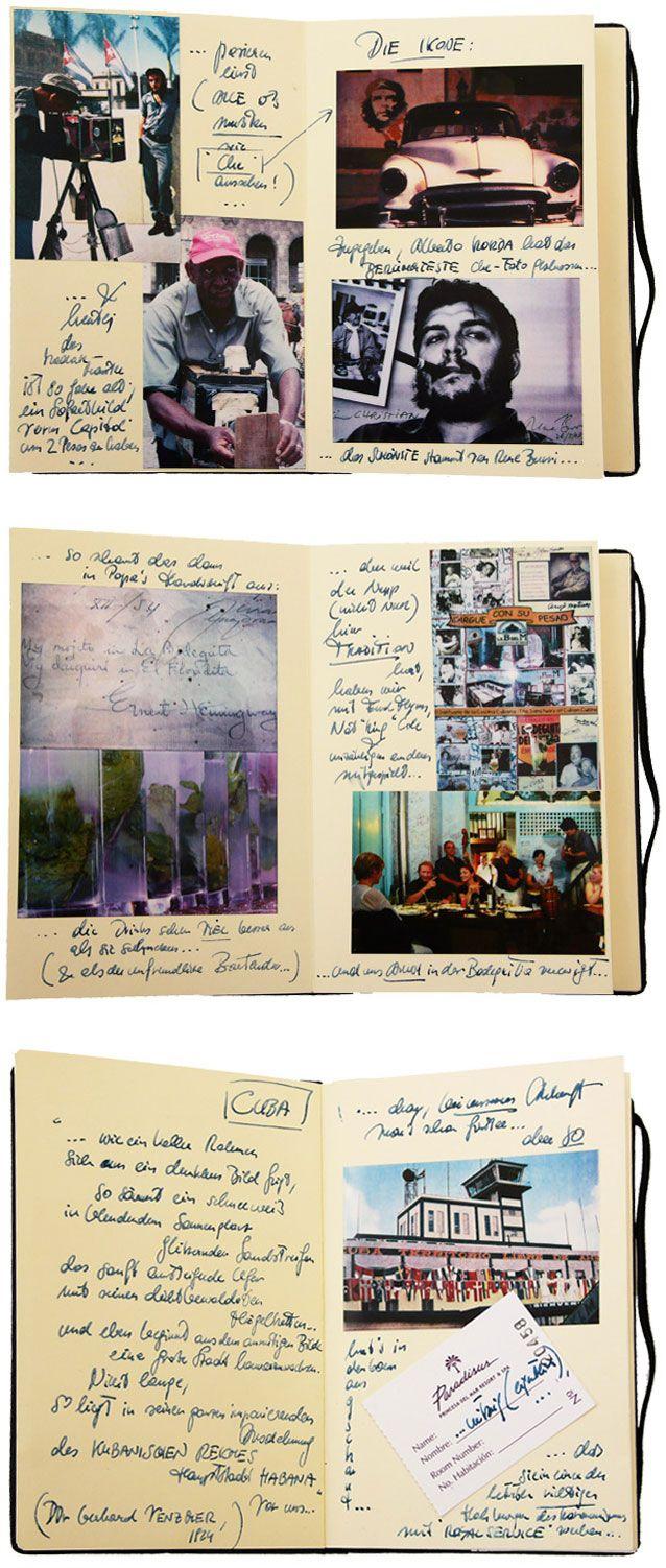 Samples of PoGo Moleskine artwork
