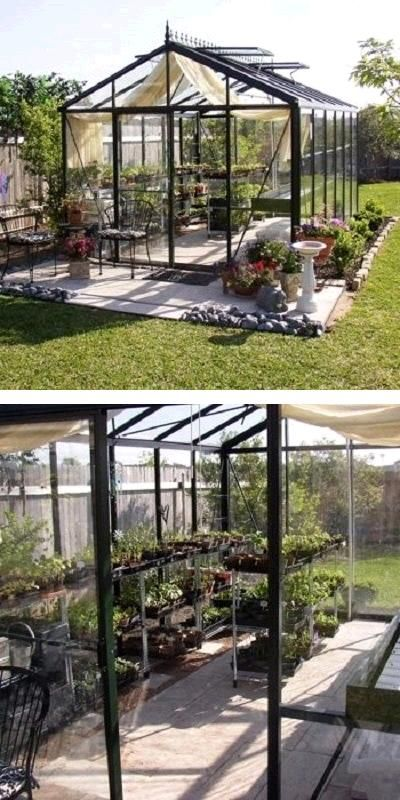 Greenhouse Misting System : The royal victorian glass walled greenhouse features a